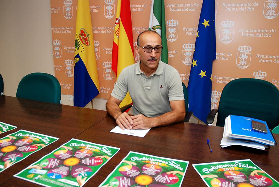 El concejal presenta el programa Participemos Tod@s