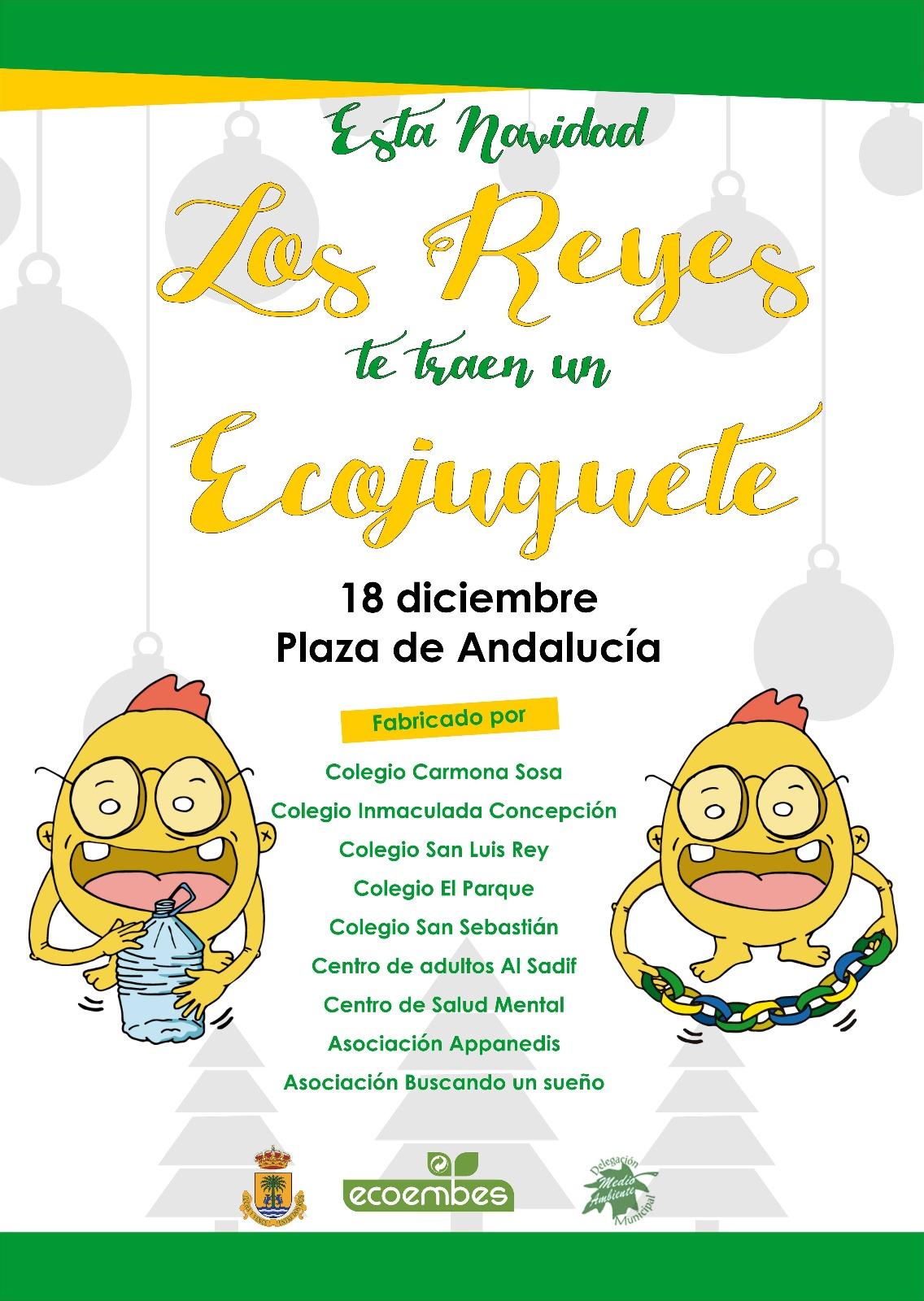 """Campaña """"Esta Navidad, fabricamos ecojuguetes"""""""