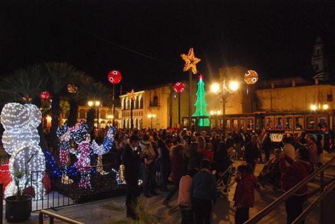 Palma en Navidad
