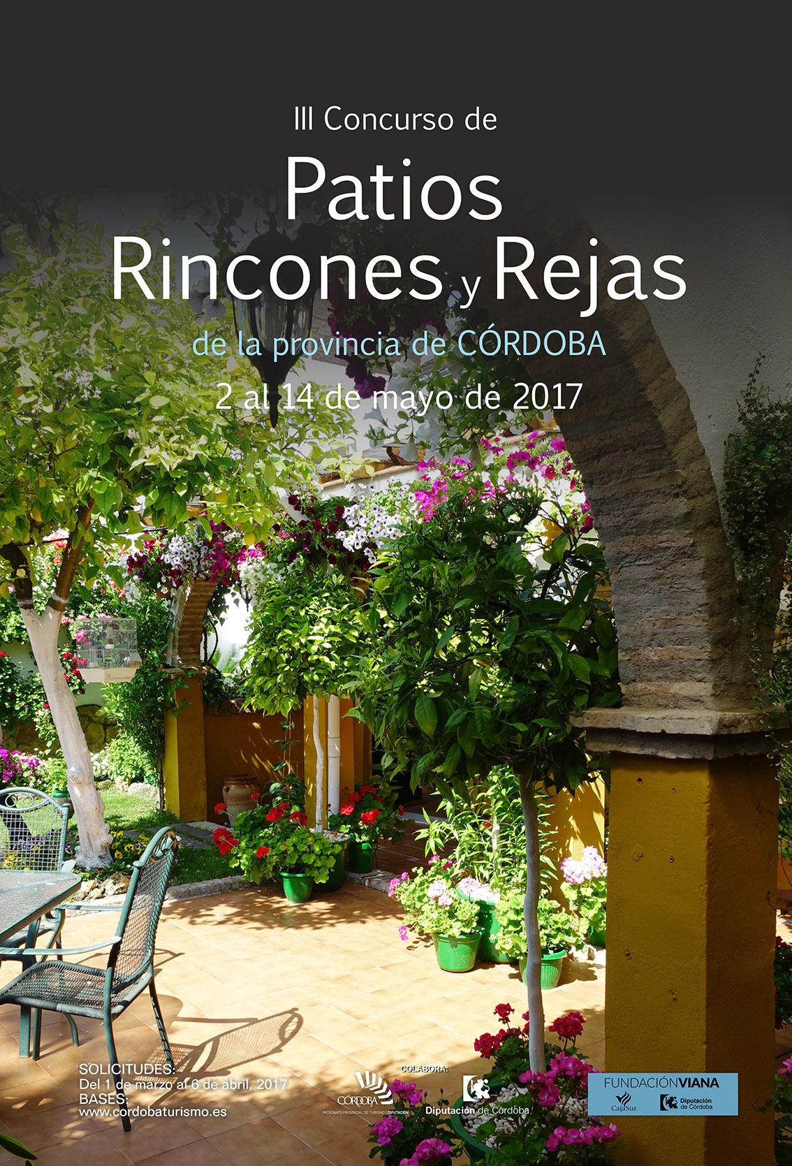 III Concurso de Patios, Rincones y Rejas de la Provincia de Córdoba
