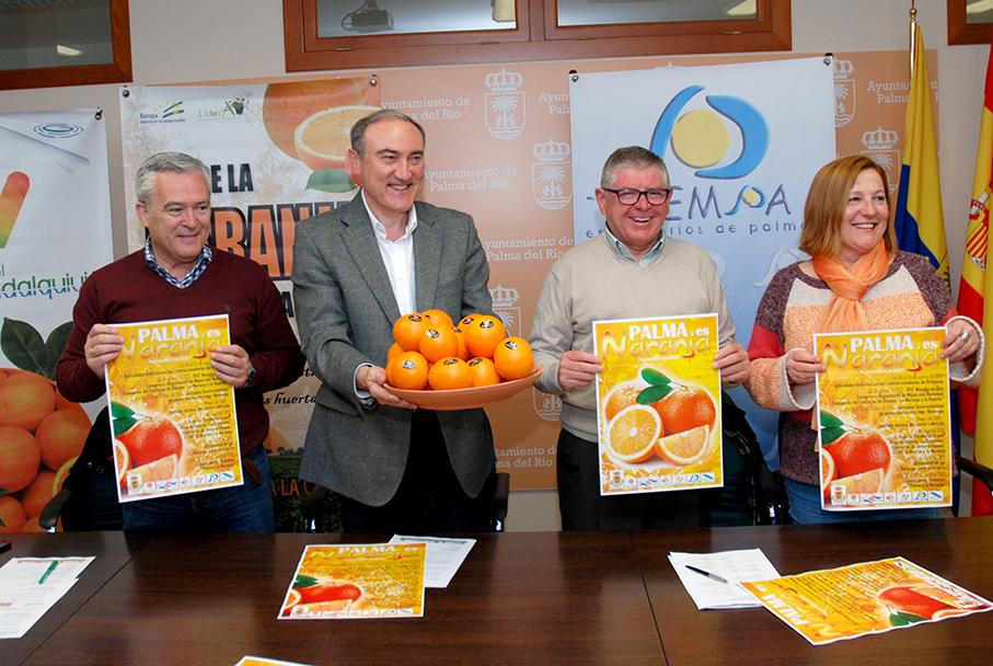 Presentación del cartel del Mes de la Naranja 2017