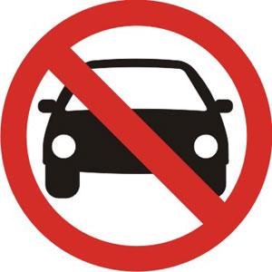Corte al tráfico en calle Plata