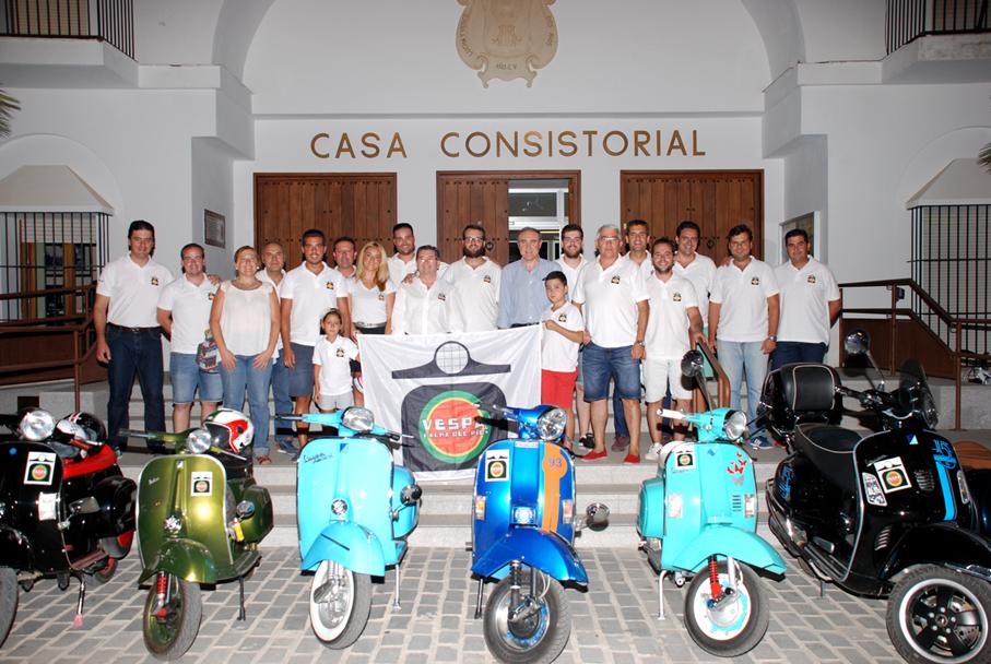 Presentación del 4º Encuentro Vespa Club Palma del Río