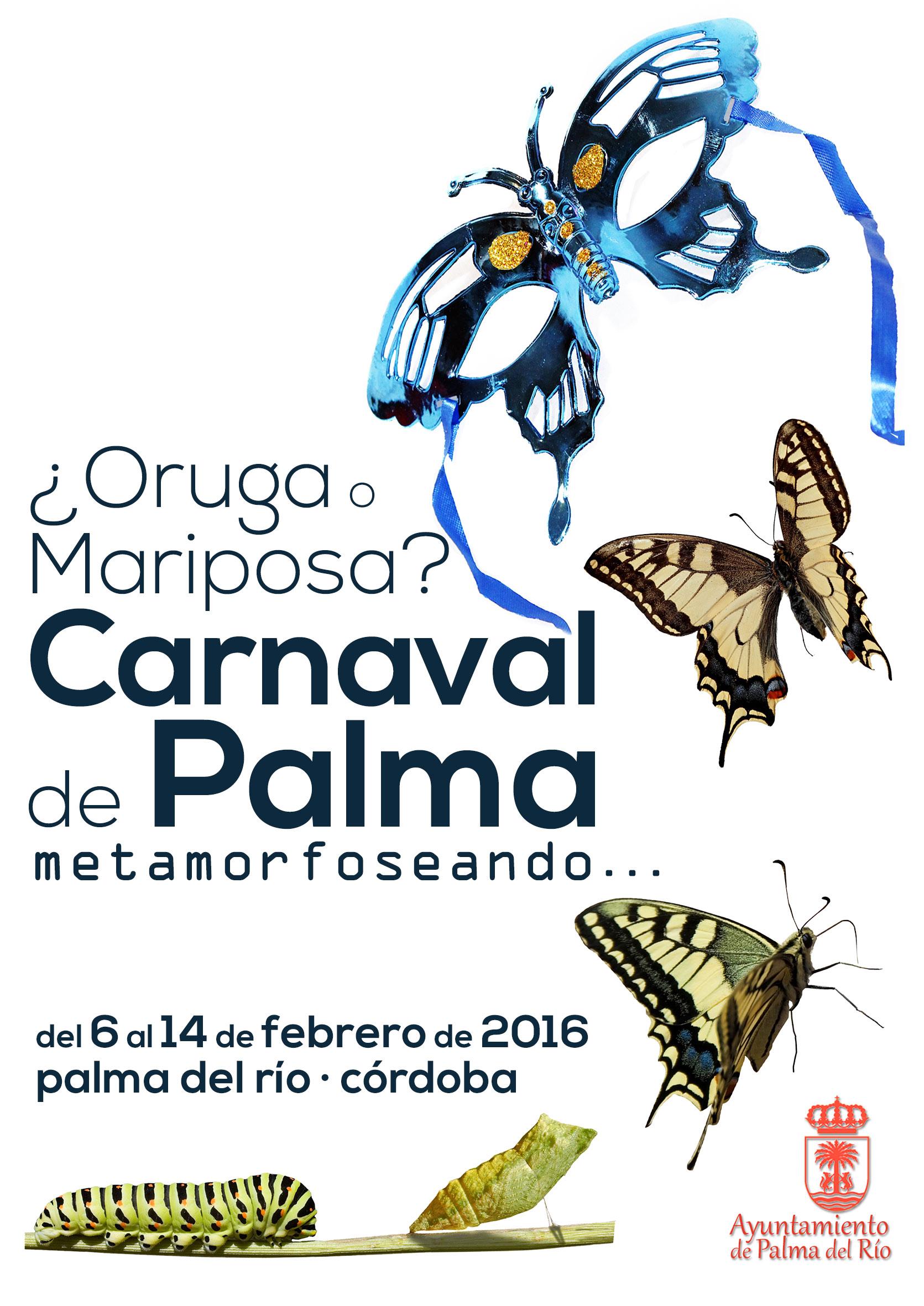 Cartel del Carnaval de Palma del Río 2016