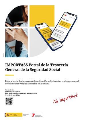Cartel de presentación del portal Import@ss