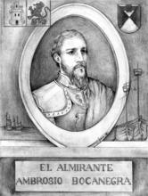 Miçer Ambrosio Bocanegra, segundo señor de la villa de Palma (1367-1373)