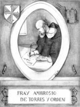 Fray Ambrosio de Torres y Orden (Siglo XVIII)