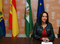 La teniente de alcalde Auria María Expósito
