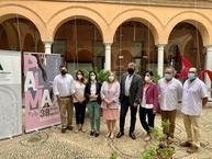 Autoridades durante la presentación de la Feria en la Delegación de Cultura de la Junta de Andalucía en Córdoba