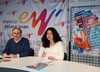 """El alcalde y la concejala de Juventud presentan """"Invierno Joven 2016"""""""