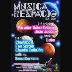 Cartel anunciador de los conciertos en el Espacio Joven